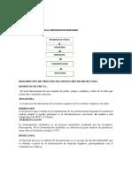 Diagrama de Flujo Para La Obtencion de Bioetanol