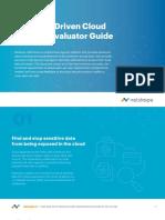 NS Cloud Security Evaluator Guide EB 00