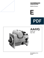 Aa4vg Series 32 Size 180 Parts