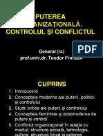 Tema 7. Puterea Organiza Ional . Controlul i Conflictul