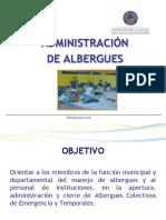 Administración de Albergues