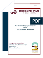 Final Study Maritime Employment Impact of the Port of Gulfport