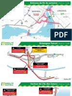 Maps of Road closures