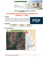 Reporte Preliminar Nº 024 - 27jun2019 - Accidente Vehicular Pativilca