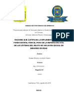 TESIS- NUEVO PROYECTO - Fondo Estatal Para Garantizar El Pago de La Reparación Civil