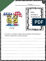 Colección de Fichas Escritura Creativa.vocabulario