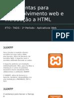 Introdução a HTML