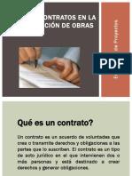 Evaluacion de Proyectos - Tipos de Contrato JGNP