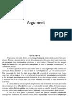 Argument atestat