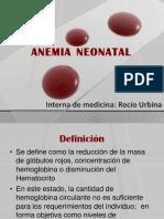 Anemia Rocio