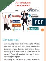 Bank Examinations(1)
