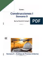 SEMAN 09 - Construcciones I - Expediente Tecnico V