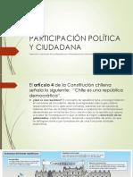 Participación Política y Ciudadana