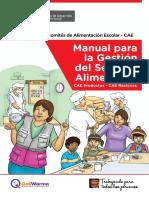 Manual Para La Gestion Del Servicio Alimentario
