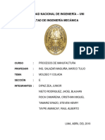 Informe 4 - Procesos de Manufactura
