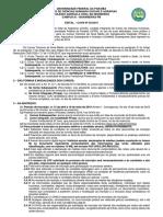Edital Do Processo Seletivo 2019.1 Presenciais