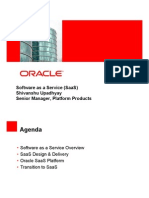 Saas Oracle Presentation
