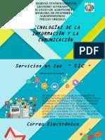 Servicios en Las TIC