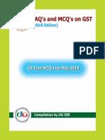 CA Final Gst Mcq