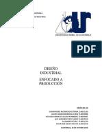Diseño Industrial Enfocado en Produccion