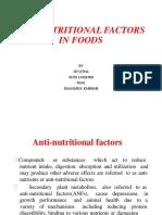 Antinutrional Factors