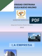 Diapositivas empresas MERCANTILES