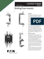 Current Limiting Fuse Mounts Catalog Ca132046en
