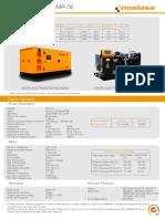 Generador Mp 76