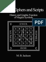 Sigils, Ciphers and Scripts Original
