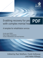 rehabilitation rcpsych report 2009
