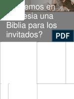 Presentación Campaña de Iglesia