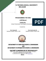 Final Lab Manual WEB