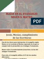 Isaias en El Evangelio de Mateo