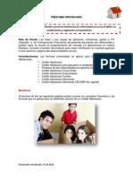 Formulas Hipotecario