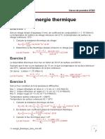 11-Energie Thermique Exos Corr