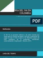 Historia Del Iva en Colombia