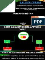 FARMACOCINÉTICA, FARMACODINÂMICA E GRUPOS FARMACOLÓGICOS