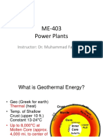 Week-15 (Geo Thermal Powerplants)