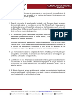 28-06 Comunicado de Prensa