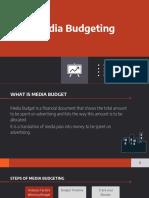 Media Budgeting