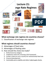 L21 ExchangeRateRegimes