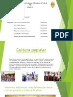 Cultura de Masa Popular y de Masas