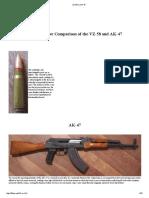 VZ-58 vs AK-47
