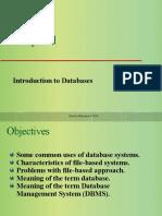 Chapter No.01 database