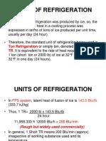 RAC C Units of Refrigeration Basics
