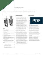 Manual Kgd Válvulas de Guillotina Para Lodos Clarkson Es Es 5193466