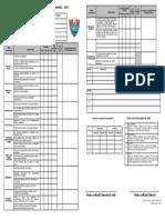 Boleta de Notas Primaria 2019 3 Periodos
