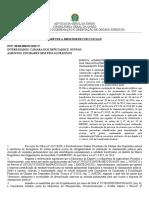 AGU - Paracer n° 026-2018 - Chamamento público - MROSC