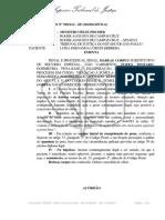 STJ - Inquéritos e Ações Penais Em Andamento Não Caracterizam Maus Antecedentes