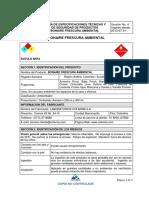 Msds Bonaire Frescura Ambiental v4